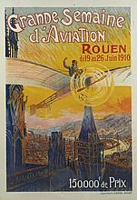 GRANDE SEMAINE DE L'AVIATION ROUEN 1910