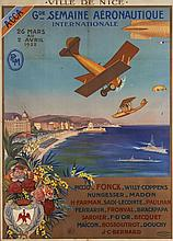 GRANDE SEMAINE AVIATION NICE 1922