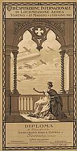 III Esposizione Internazionale Di Locomozione Aerea 1913
