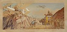 Ernest MONTAUT 1879-1909 Voyage de Noces