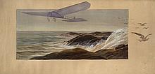 M. CAMPION  La Traversée de la Manche par Louis Blériot