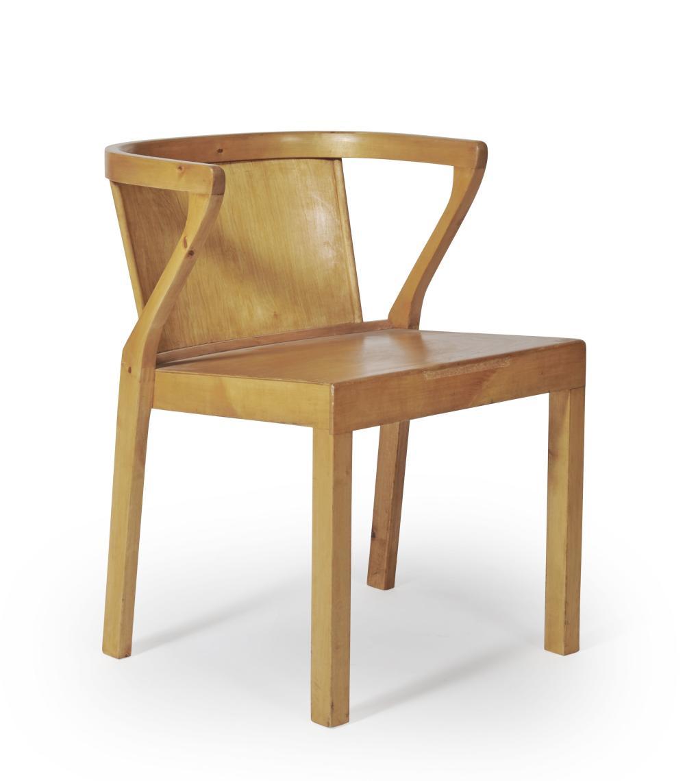 Alvar AALTO (1898 - 1976) Chaise - circa 1950