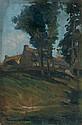 Francis PICABIA (Paris, 1879 - Paris, 1953) PAYSAGE DE DOUARNENEZ, 1901 Huile sur panneau