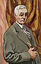 ¤ Louis VALTAT (Dieppe, 1869 - Paris, 1952) AUTOPORTRAIT Huile sur toile