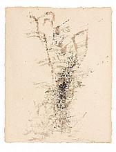 ZAO WOU- KI (1920-2013) SANS TITRE - 1960 Encre de Chine sur papier
