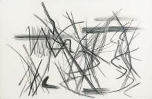 Hans HARTUNG (1904-1989) P1947-34 - 1947 Pastel sur papier
