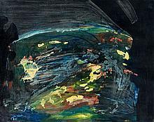 Thanos TSINGOS (1914-1965) SANS TITRE - 1949 Huile sur toile