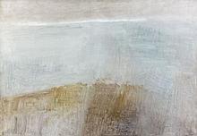 Geneviève ASSE (née en 1923) PLAGE - 1966 Huile sur toile
