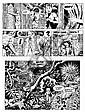 CUVELIER Paul (1923-1978)  LINE Encre de Chine pour la planche 20 d'un des albums de cette série débutée en 1966 aux éditions du Lom..., Paul Cuvelier, Click for value