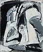 Albert BITRAN (né en 1929) ETUDE, 1967-68 Huile sur toile
