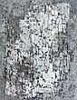 Pierre DMITRIENKO (1925-1974) COMPOSITION ABSTRAITE, 1958 Huile sur papier