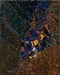 Jacques GERMAIN (1915-2001) COMPOSITION, 1970 Huile sur toile