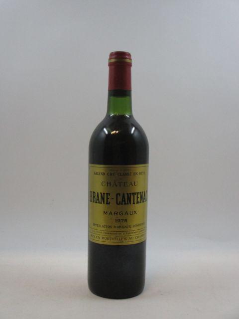 1 bouteille CHÂTEAU BRANE CANTENAC 1975 2è GC Margaux (base goulot