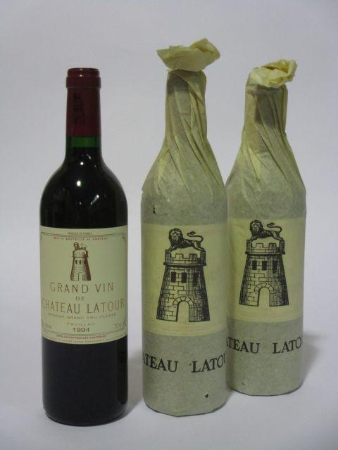 6 bouteilles LES FORTS DE LATOUR 1994 Pauillac (cave 6)