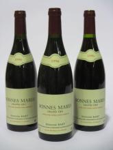 6 bouteilles BONNES MARES 1996 Grand Cru