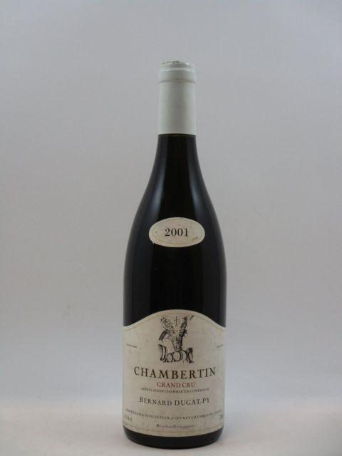 1 bouteille CHAMBERTIN 2001 Grand Cru