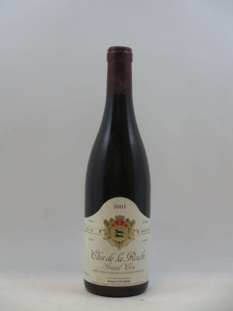 1 bouteille CLOS DE LA ROCHE 2001 Grand Cru