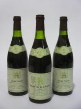 6 bouteilles CLOS DE VOUGEOT 1988 Grand Cru
