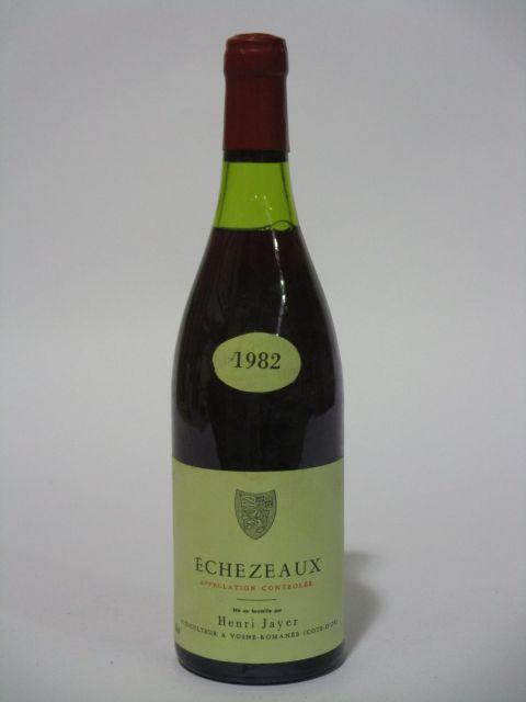 1 bouteille ECHEZEAUX 1982 Grand Cru