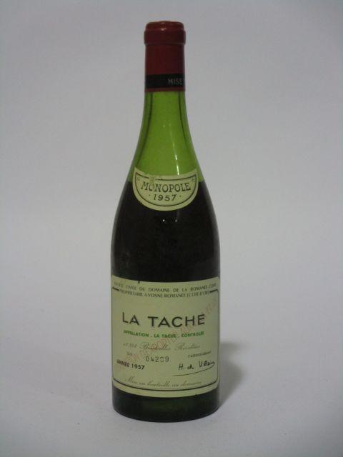 1 bouteille LA TACHE 1957 Grand Cru