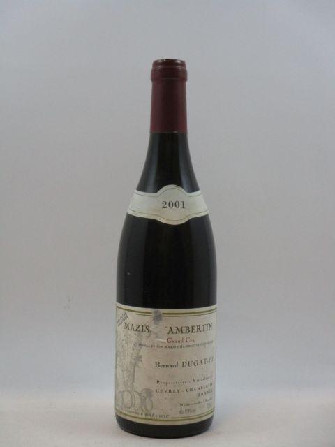 1 bouteille MAZIS CHAMBERTIN 2001 Grand Cru
