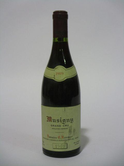 1 bouteille MUSIGNY 1989 Grand Cru