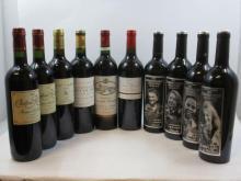 10 bouteilles  1 bt : CHÂTEAU D'ARSAC 2013 Margaux. The Winemakers collection : Biyela Saison 8 1 bt : CHÂTEAU D'ARSAC 2014 Margau...