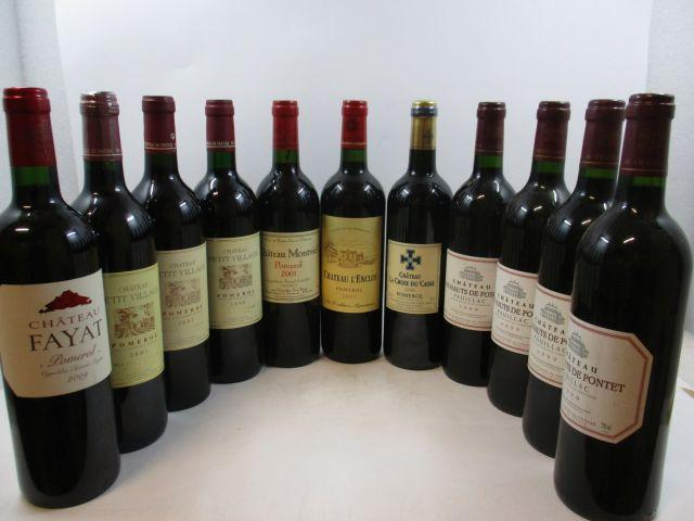 11 bouteilles 1 bt : CHÂTEAU FAYAT 2009 Pomerol