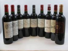 9 bouteilles  1 bt : CHÂTEAU FOURCAS DUPRE 2005 Listrac 1 bt : CHÂTEAU FOURCAS DUPRE 2006 Listrac 1 bt : CHÂTEAU FOURCAS DUPRE 2...