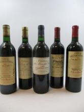 12 bouteilles 1 bt : CHÂTEAU LA CROIX DU CASSE 1989 Pomerol (étiquette abimée, bouchon léger enfoncé)