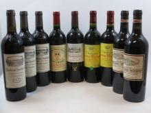 9 bouteilles  1 bt : CHÂTEAU SOUTARD 2001 GC Saint Emilion 1 bt : CHÂTEAU SOUTARD 2010 GC Saint Emilion 1 bt : CHÂTEAU SOUTARD 2...