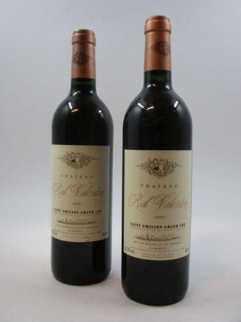 6 bouteilles 3 bts : CHÂTEAU ROL VALENTIN 1997 GC Saint Emilion