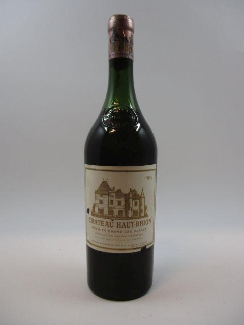 1 bouteille CHÂTEAU HAUT BRION 1959 1er GC Pessac Léognan (5 cm