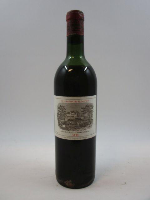 1 bouteille CHÂTEAU LAFITE ROTHSCHILD 1959 1er GC Pauillac (mi-épaule