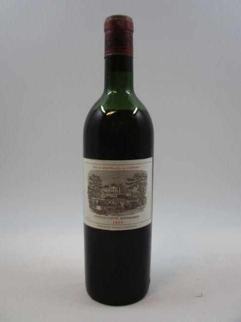1 bouteille CHÂTEAU LAFITE ROTHSCHILD 1959 1er GC Pauillac (basse épaule