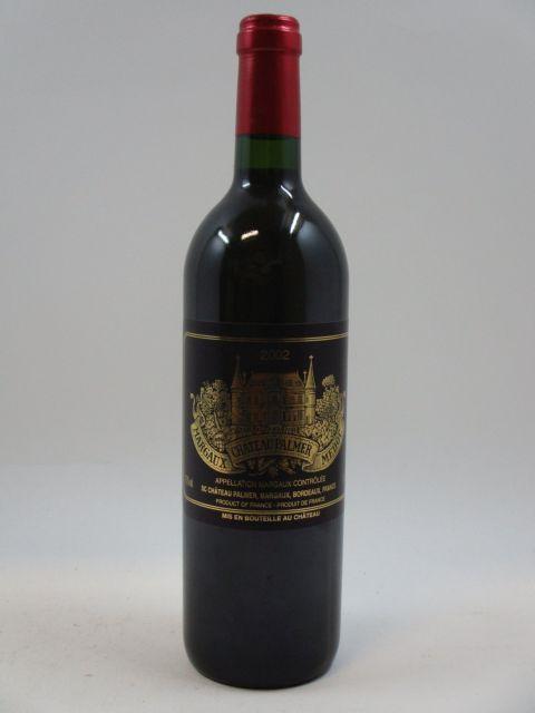 1 bouteille CHÂTEAU PALMER 2002 3è GC Margaux