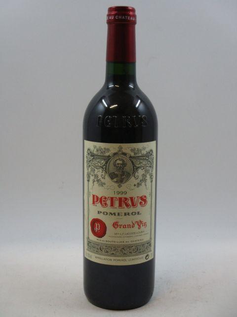 1 bouteille PETRUS 1999 Pomerol  (cave 7)