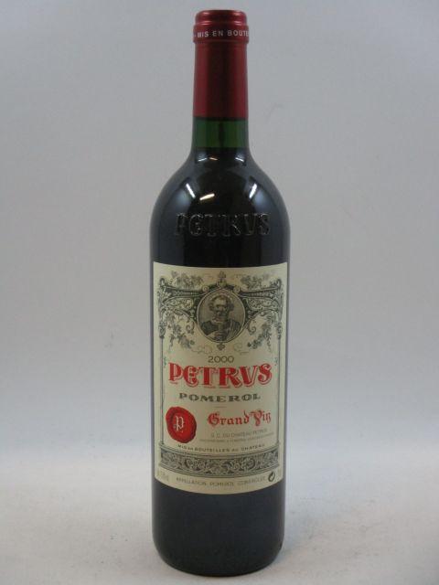 1 bouteille PETRUS 2000 Pomerol  (cave 7)