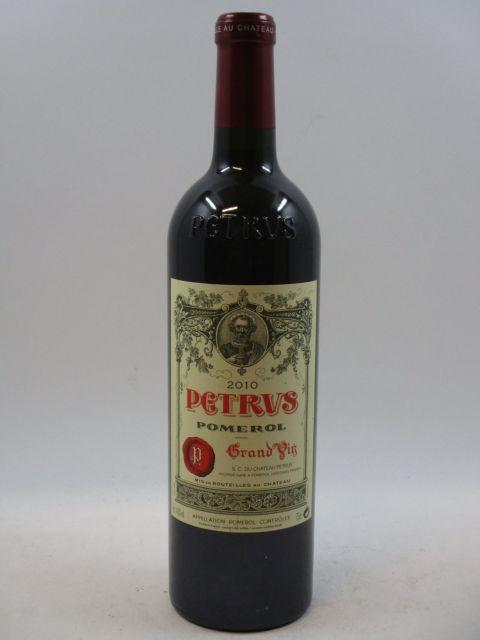 1 bouteille PETRUS 2010 Pomerol  (cave 7)