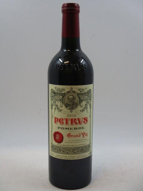 1 bouteille PETRUS 2012 Pomerol (cave 7)
