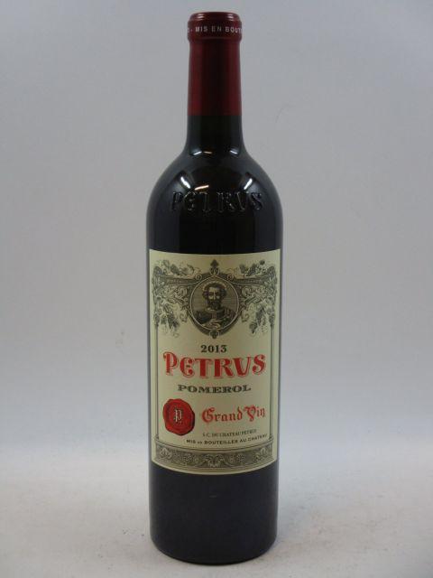 1 bouteille PETRUS 2013 Pomerol (cave 7)