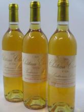 6 bouteilles CHÂTEAU CLIMENS 1995 1er cru Barsac (étiquettes très tachées)