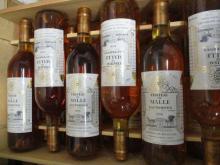 12 bouteilles CHÂTEAU DE MALLE 1990 2è cru Sauternes Caisse bois d'origine (cave 1)