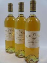 3 bouteilles CHÂTEAU RIEUSSEC 2002 1er cru Barsac  (cave 2)