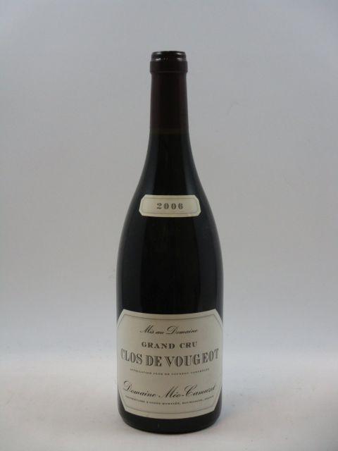 1 bouteille CLOS DE VOUGEOT 2006 Grand Cru