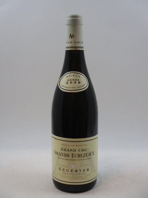 1 bouteille GRANDS ECHEZEAUX 2008 Grand Cru
