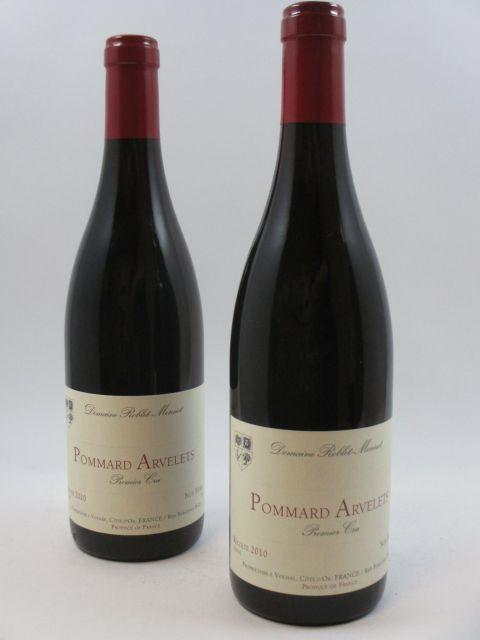 12 bouteilles POMMARD 2010 1er cru Arvelets