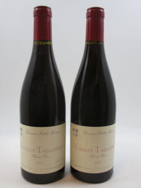 12 bouteilles VOLNAY 2005 1er cru Les Taillepieds