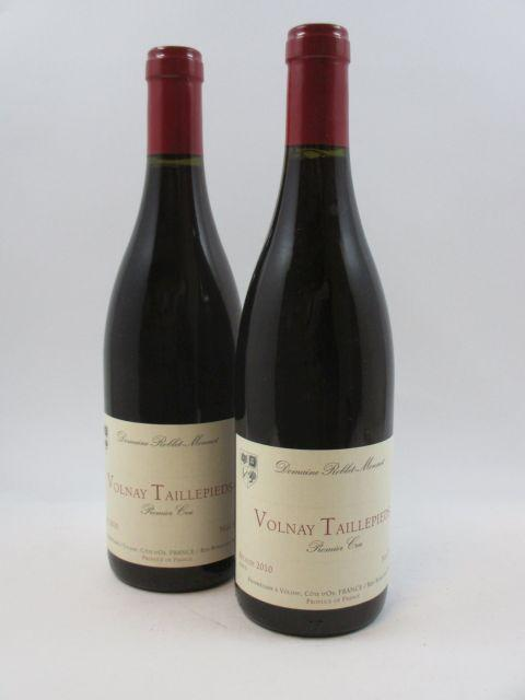 12 bouteilles VOLNAY 2010 1er cru Les Taillepieds