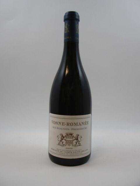 1 bouteille VOSNE ROMANEE 2009 1er cru Aux Reignots